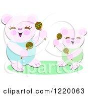 Happy Bears Shaking Maracas