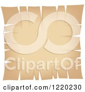 Clipart Of A Vintage Parchment Paper Page 3 Royalty Free Vector Illustration