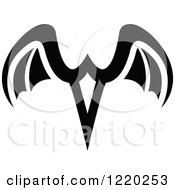 Pair Of Black And White Wings 5