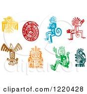 Ancient Hieroglyph Tribal Art