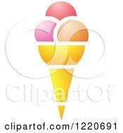 Waffle Ice Cream Cone