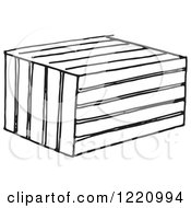 Black And White Crate Or Animal Trap