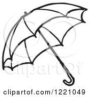Black And White Umbrella 2