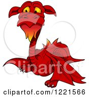 Red Dragon With A Beard