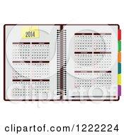 2014 Planner Organizer Book