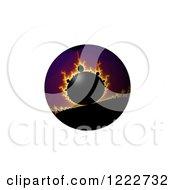 Fiery Fractal Globe
