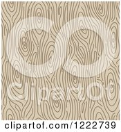 Seamless Wood Grain Pattern Background