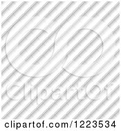 Clipart Of A Diagonal Texture Royalty Free Vector Illustration