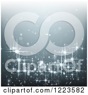 Clipart Of A Sparkling Background Royalty Free Vector Illustration by vectorace #COLLC1223582-0166