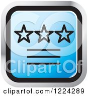 Clipart Of A Blue Ratings Icon Royalty Free Vector Illustration