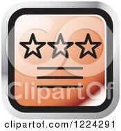 Clipart Of A Red Ratings Icon Royalty Free Vector Illustration