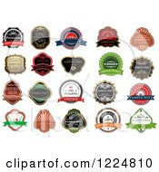 Retail Quality Labels With Sample Text 6