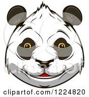 Happy Giant Panda Face 3