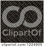 Clipart Of A 3d Black Carbon Fiber Weave Texture Royalty Free Illustration
