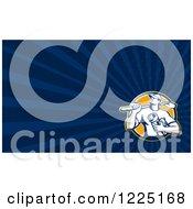 Retro Drain Layer Background Or Business Card Design
