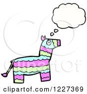 Thinking Donkey Pinata