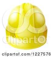 Yellow Contractor Hard Hat