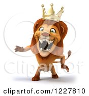 3d Lion King Roaring