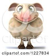 3d Happy Sheep