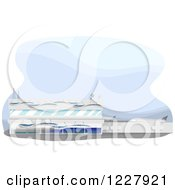 Clipart Of An Airport Building Royalty Free Vector Illustration by BNP Design Studio