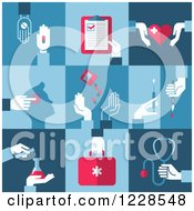 Medical And Pharmaceutical Icons