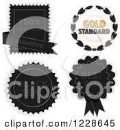 Guarantee Badges And Labels