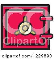 Pink Safe Vault Icon