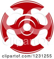 Clipart Of A Red Cross 14 Royalty Free Vector Illustration