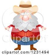 Depressed Mining Prospector Man