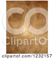 Clipart Of An Aged Vintage Paper Texture Royalty Free Illustration