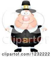 Happy Male Thanksgiving Pilgrim