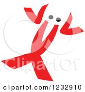 Clipart Of A Red And Black Lobster Logo Royalty Free Vector Illustration by Seamartini Graphics