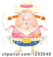 Depressed Sheriff Cowgirl