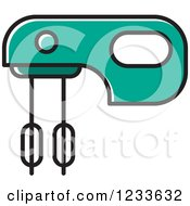 Turquoise Mixer