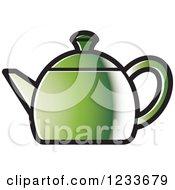 Green Tea Pot