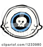 Eye With A Skull