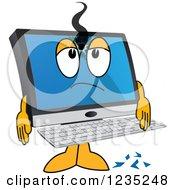 Poster, Art Print Of Shot Pc Computer Mascot