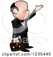 Businessman Hailing A Cab