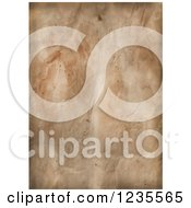 Clipart Of An Aged Vintage Paper Background Royalty Free Illustration