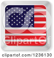 American Flag Computer Keyboard Button