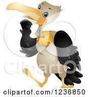 Cute Vulture Rubbing His Chin