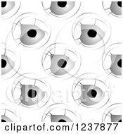 Clipart Of A Seamless Background Pattern Of Bullet Holes Royalty Free Vector Illustration by Vector Tradition SM
