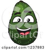 Smiling Avocado