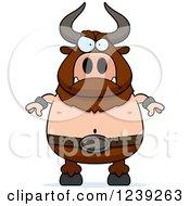 Mad Minotaur Bull Man