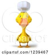 3d Chef Duck