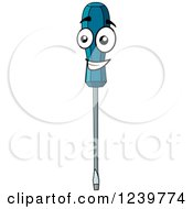 Happy Cartoon Screwdriver