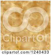 Clipart Of A Yellow Marble Texture Background Royalty Free Illustration