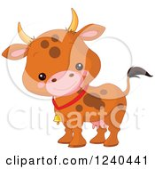 Cute Farm Animal Cow