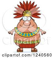 Happy Aztec Chief King