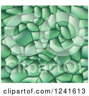 Green Seamless Background Of Lizard Skin